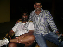 Mahesh (Left) and Abdul