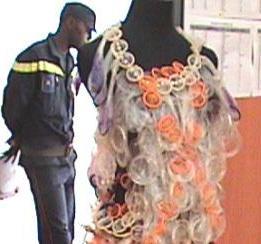 Condom dress 2