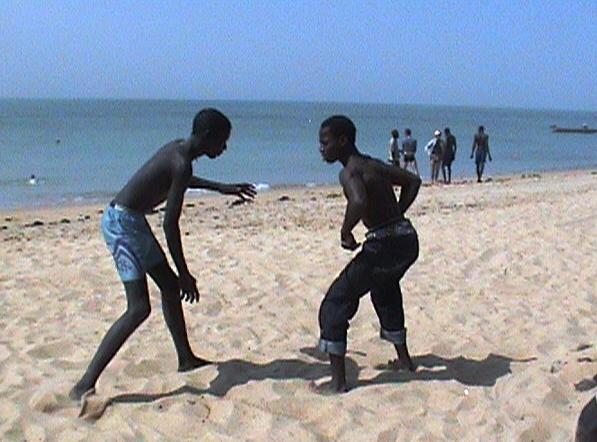 Beachwrestling mbour