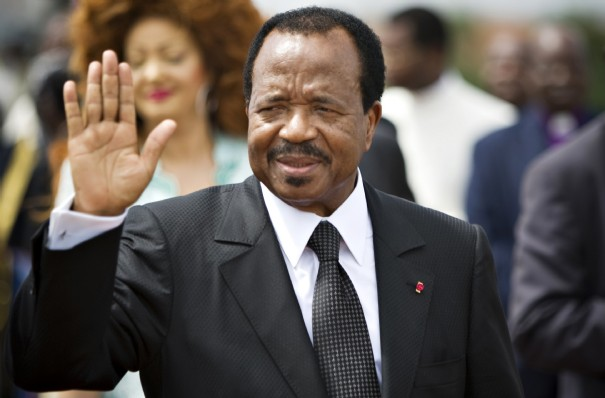 President Biya on March 20 09