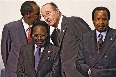 All Gone except Biya of Cameroon