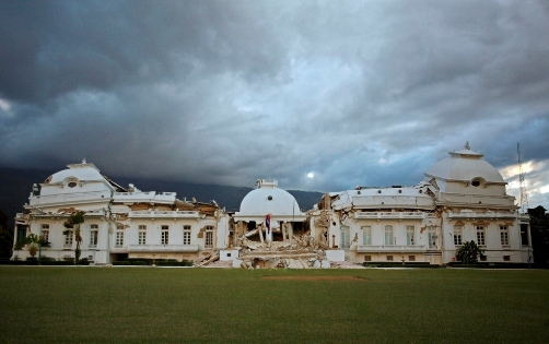 Haiti's Destroyed Presidential Palace