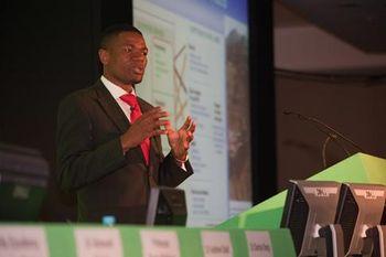 Dr Richard Munang at Global Summit on Climate