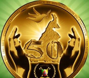 Cameroon Golden Jubilee Logo