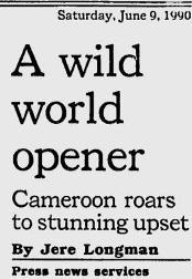 Cameroon-Argentina Headline