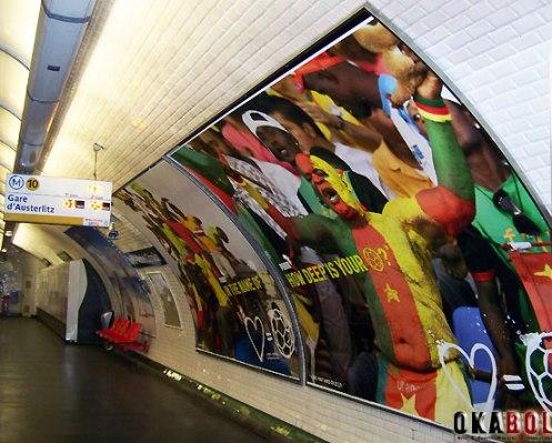 Ngando Picket_Paris Metro