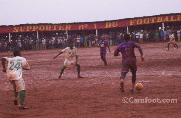 Fovu-coton at the Bafoussam Stadium