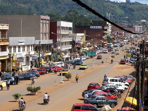 Commercial Avenue Bamenda (c) Our Man in Cameroon