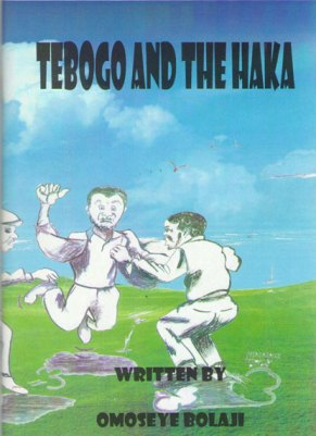 Tebogo and the Haka
