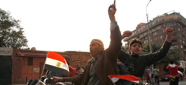 Joy As Mubarak Resigns