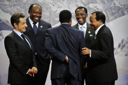Sarkozy and his puppets