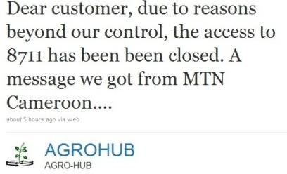 Twitter closed