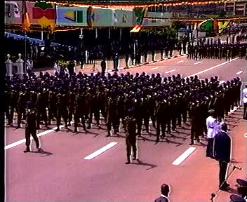 Military Parade in Cameroon
