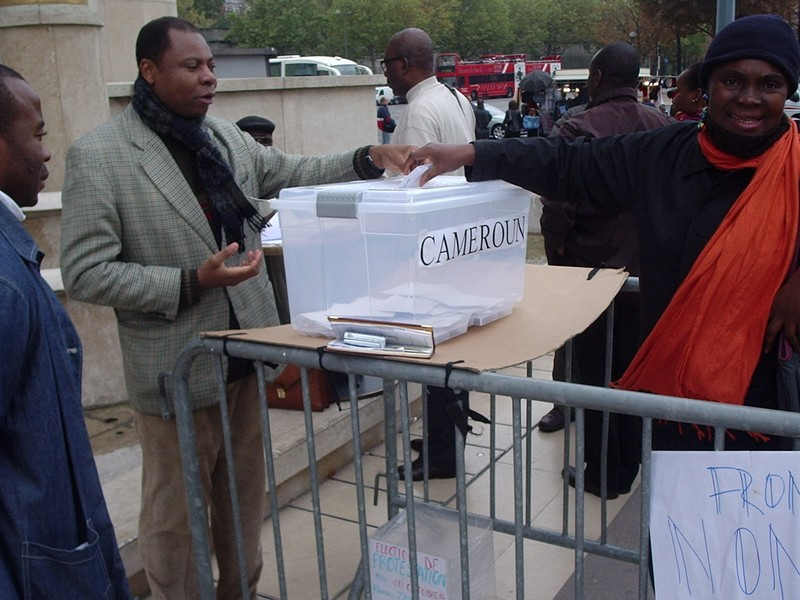 Symbolic Diaspora Vote in Paris_2007