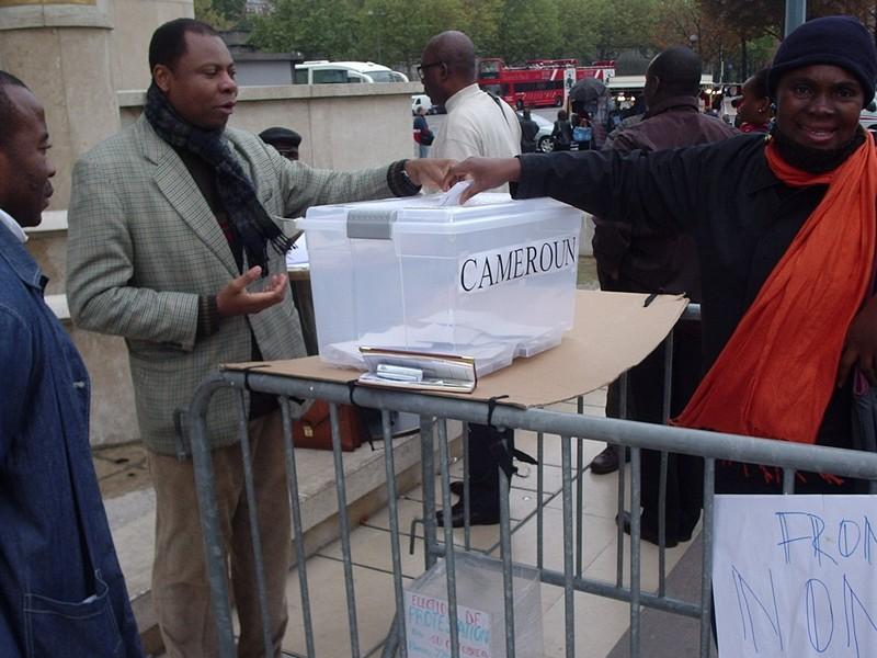 Symbolic Diaspora Vote in Paris_2007