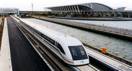 Train from Pudong International Airport, Shanghai