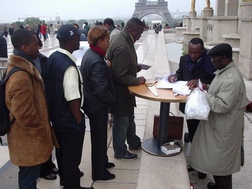 Diaspora Symbolic Vote_Paris 2007