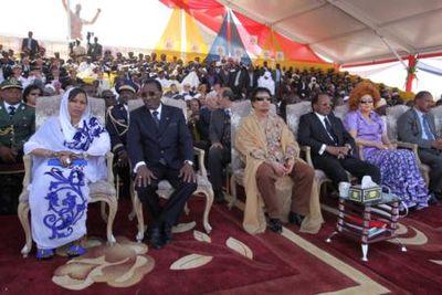 Gaddafi and Biya