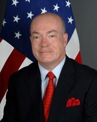 US Ambassador Robert Jackson