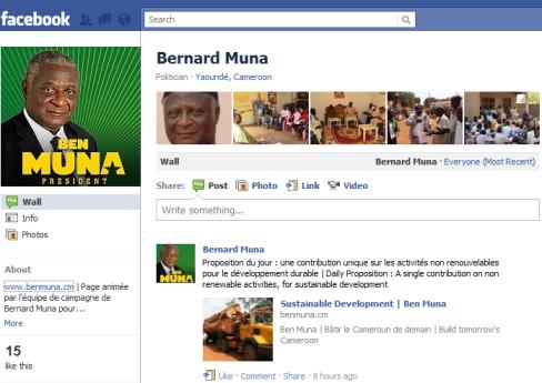 Ben Muna Facebook Page