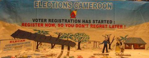 ELECAM Voter Registratioon Banner