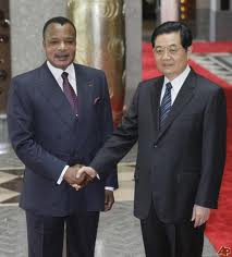 President Sassou Nguessou, not to be left out of the African sell out to China