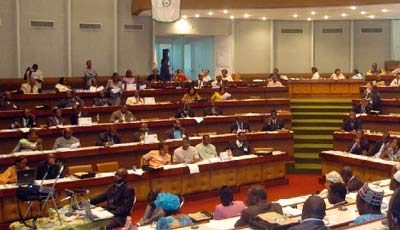 Cameroon National Assembly in Session