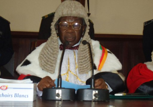 Cameroon Supreme Court Chief Justice Alexis Dipanda Mouelle