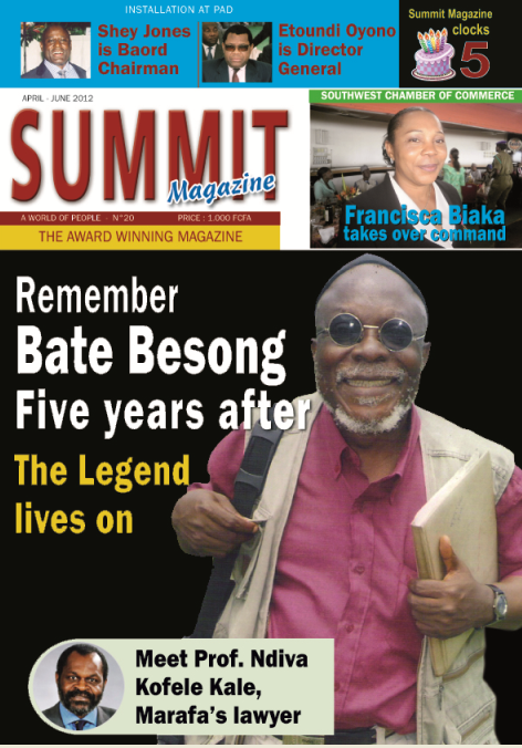 Summit Magazine_Bate Besong