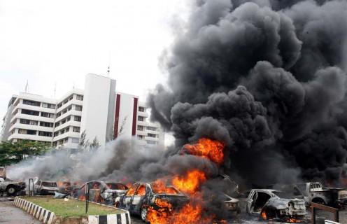 UN Buildingin Nigeria Bombed by Boko Haram