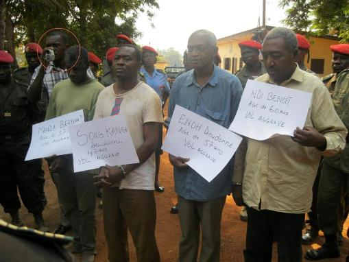 Enoh Meyomesse and his alleged accomplices