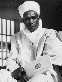 Alhaji Sir Abubakar Tafawa Balewa, P.C., K.B.E., LL.D, M.P., Prime Minister of the Federal Republic of Nigeria
