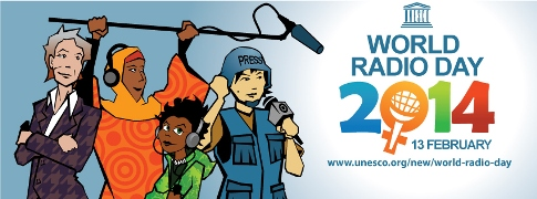 Banner Unesco World Radio Day
