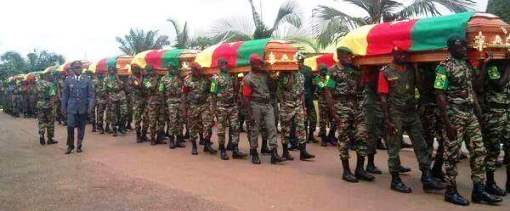 August 2014_Military honors for Cameroonian troops in clashes with Boko Haram