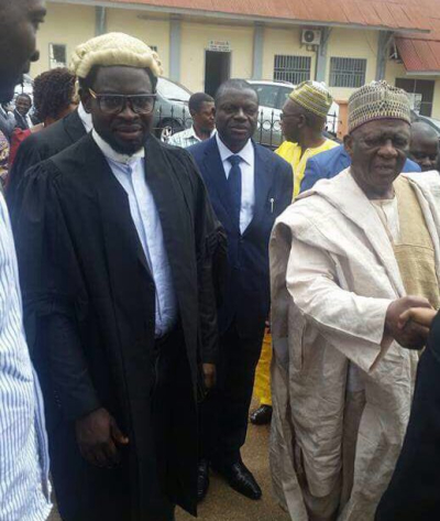 Fru Ndi in Court