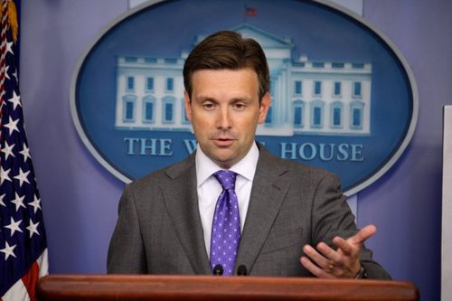 White Houdr Press Secretary Josh Earnest