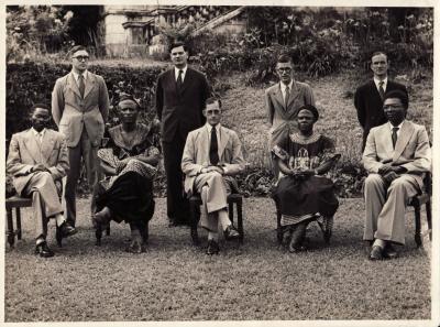 Southern Cameroons Executive Council 1954