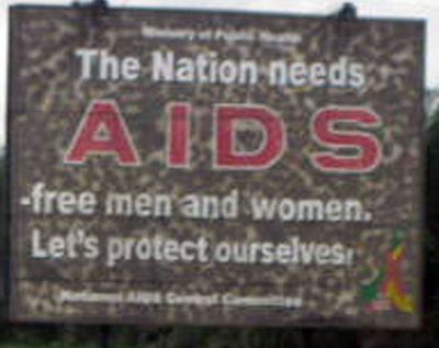 Aidsbillboardincameroon